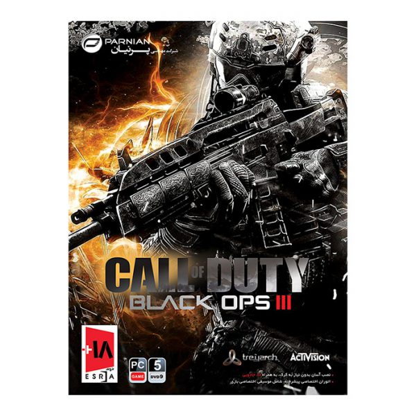 بازی Call of Duty Black Ops III مخصوص Pc پرنیان