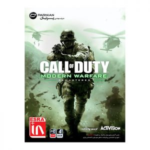 بازی Call Of Duty Modern Warfare Remastered نشر پرنیان